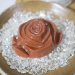 薔薇のかたちの石鹸